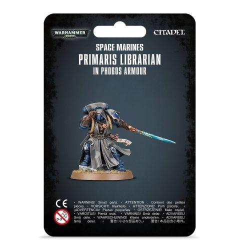 Figurka Warhammer 40000 - Primaris Librarian in Phobos Armour (PC)