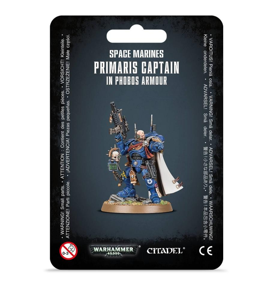 Figurka Warhammer 40000 - Primaris Captain in Phobos Armour (PC)