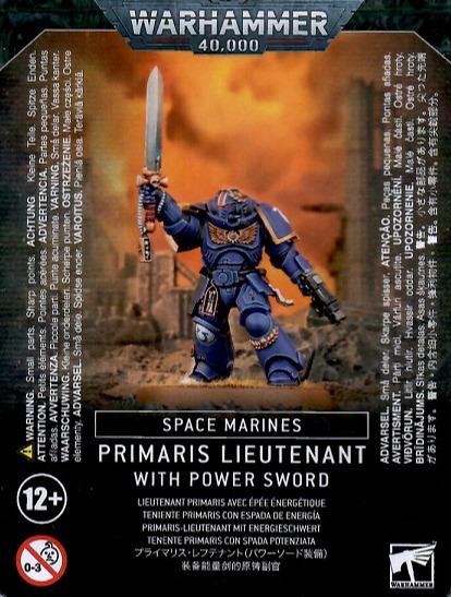 Figurka Warhammer 40000 - Primaris Lieutenant with Power Sword (PC)