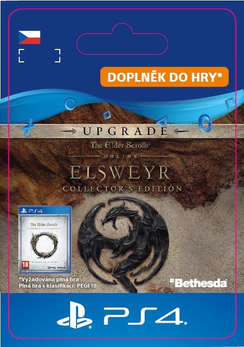 The Elder Scrolls Online: Elsweyr Collector\'s Edition Upgrade (PS4 DIGITAL) (PS4)