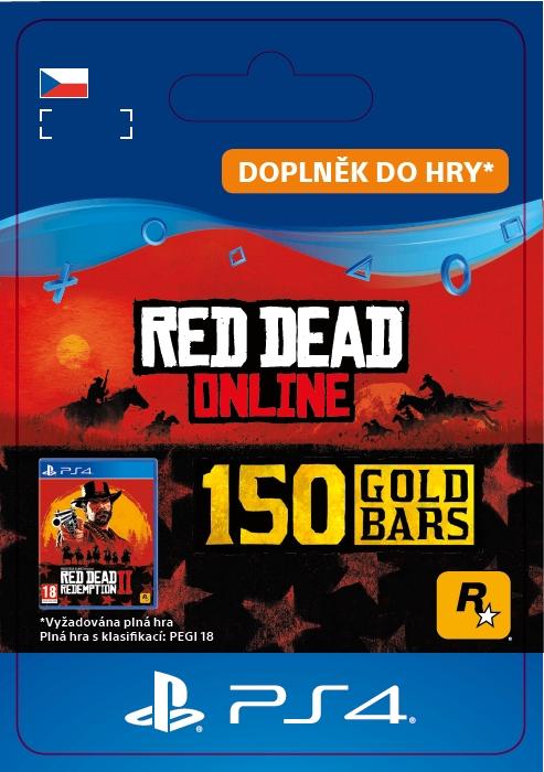 Red Dead Online: 150 Gold Bars (PS4 DIGITAL)