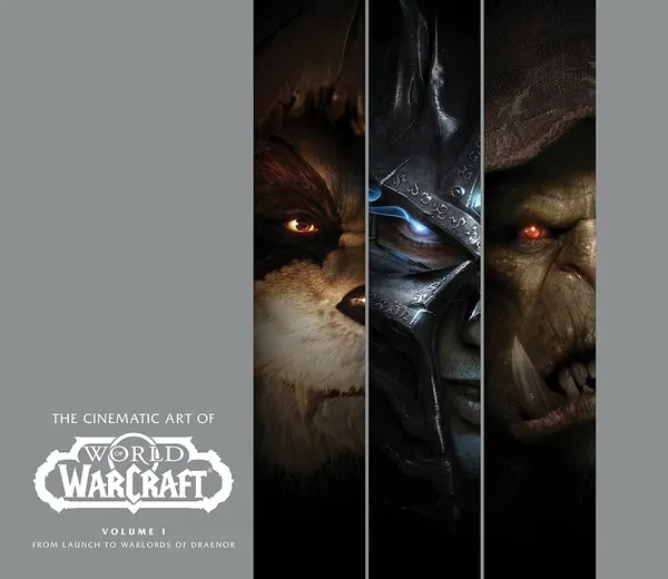 Kniha The Cinematic Art of World of Warcraft: Volume 1 (PC)