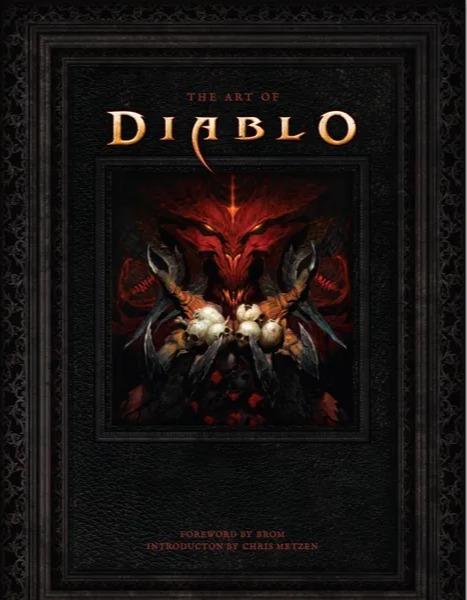 Kniha The Art of Diablo (PC)