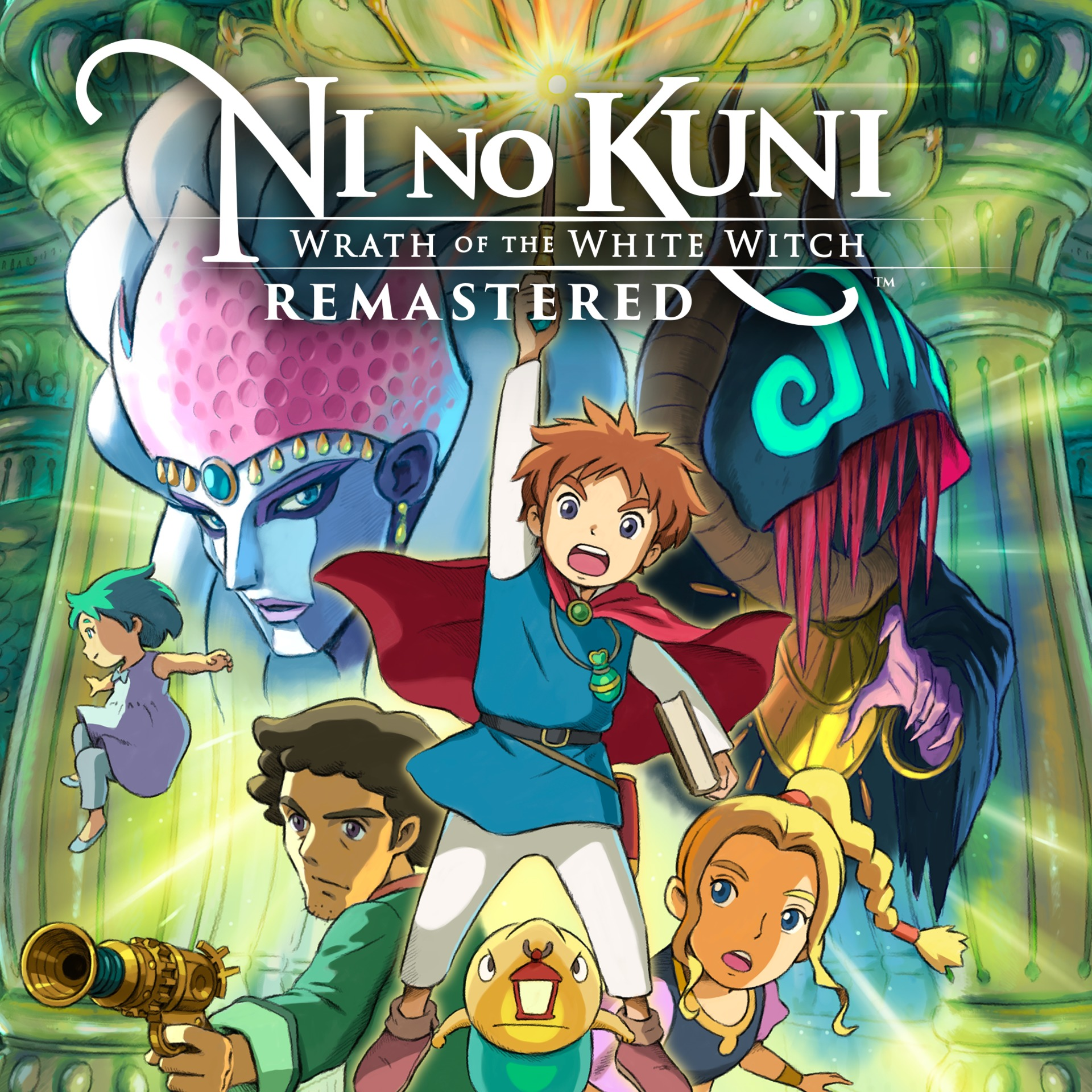 Ni no Kuni: Wrath of the White Witch Remastered (PC) Klíč Steam (PC)