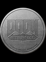 Klíčenka Doom: Eternal - Logo