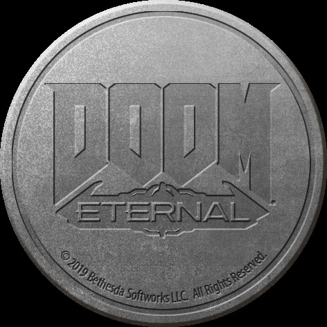 Klíčenka Doom: Eternal - Logo (PC)