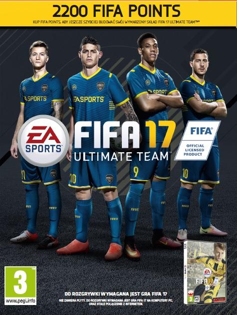 FIFA 17 Points (PC) DIGITAL 2200 FUT (PC)