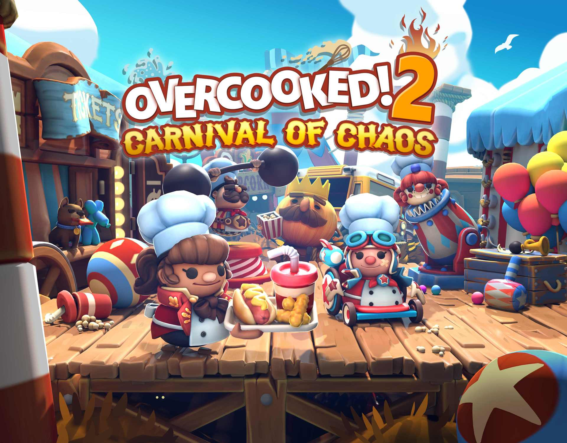Overcooked! 2 - Carnival of Chaos (PC) Steam (PC)