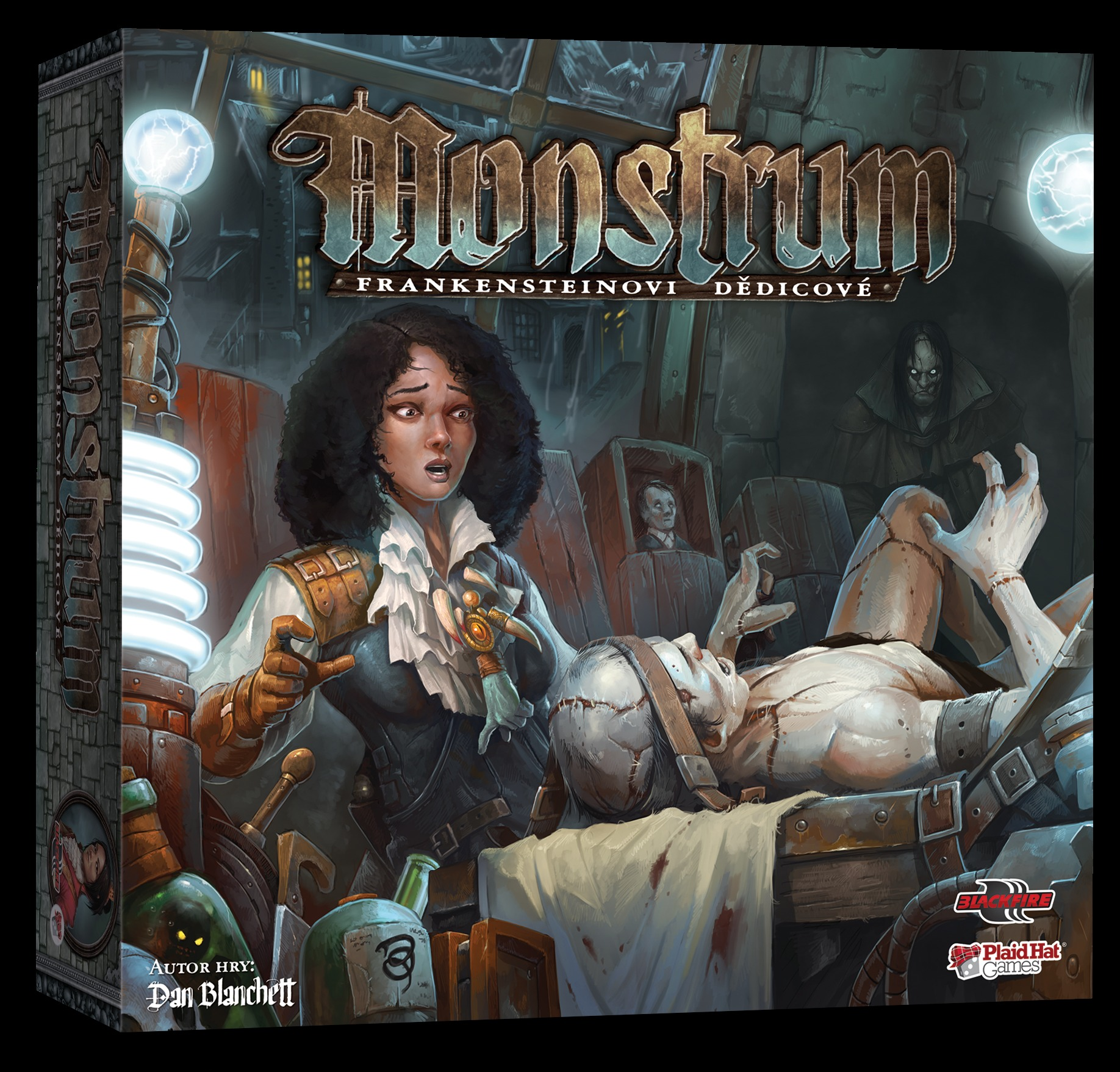 Desková hra Monstrum: Frankensteinovi dědicové (PC)