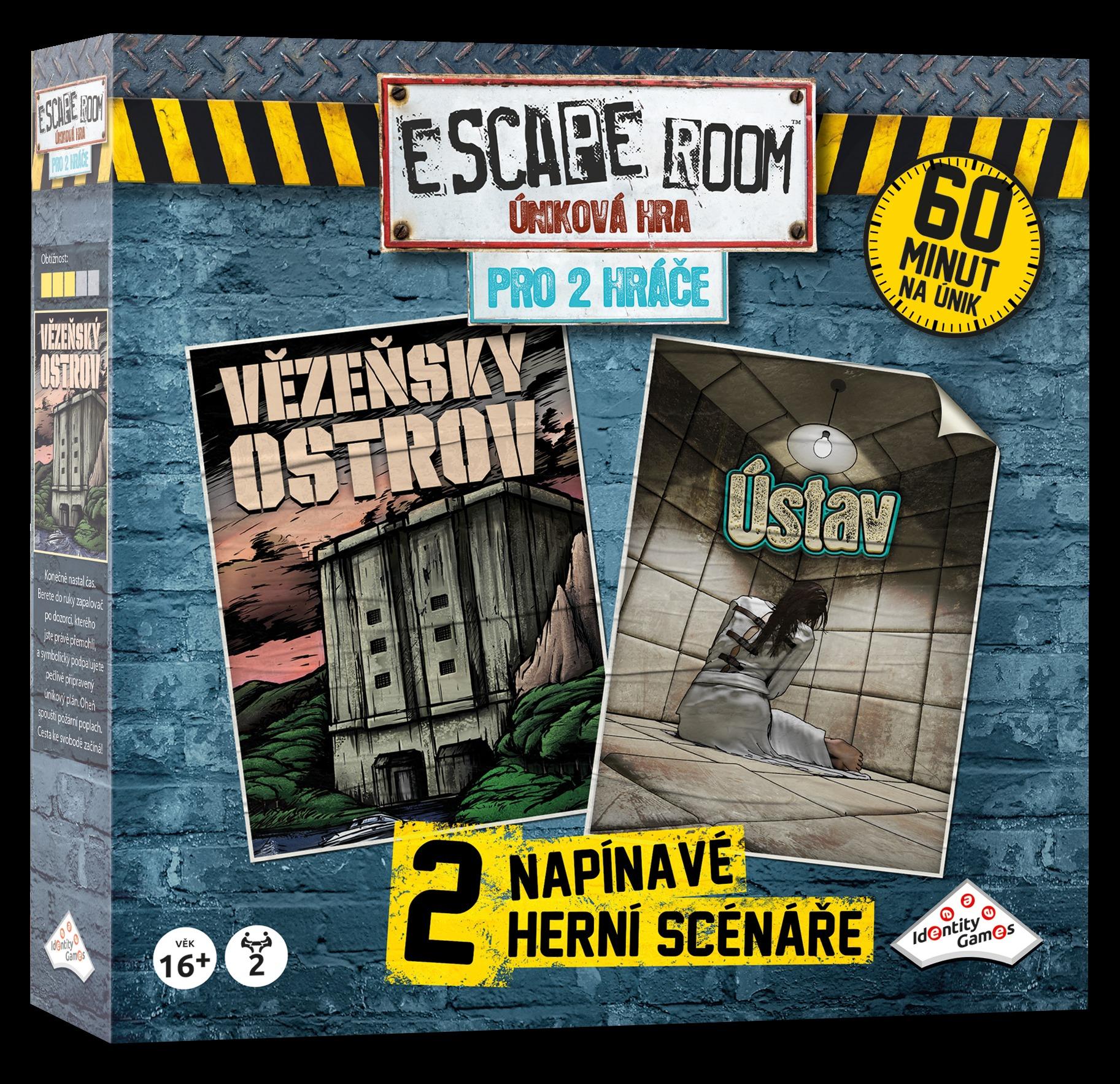 Desková hra Escape Room: Úniková hra pro 2 hráče (PC)