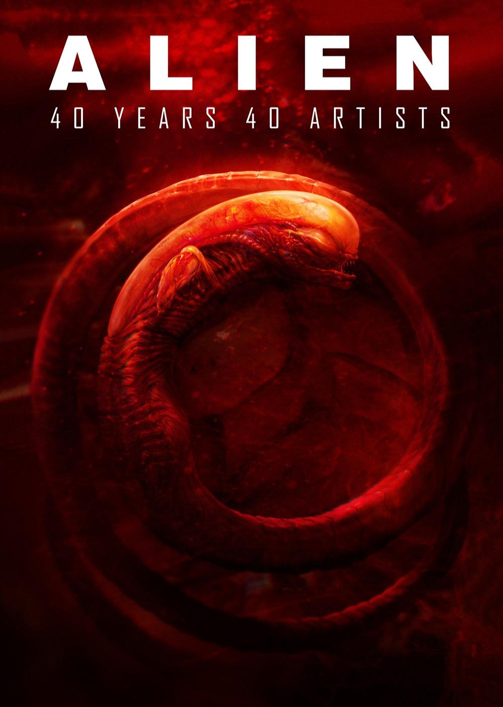 Kniha Alien: 40 Years 40 Artists  (PC)