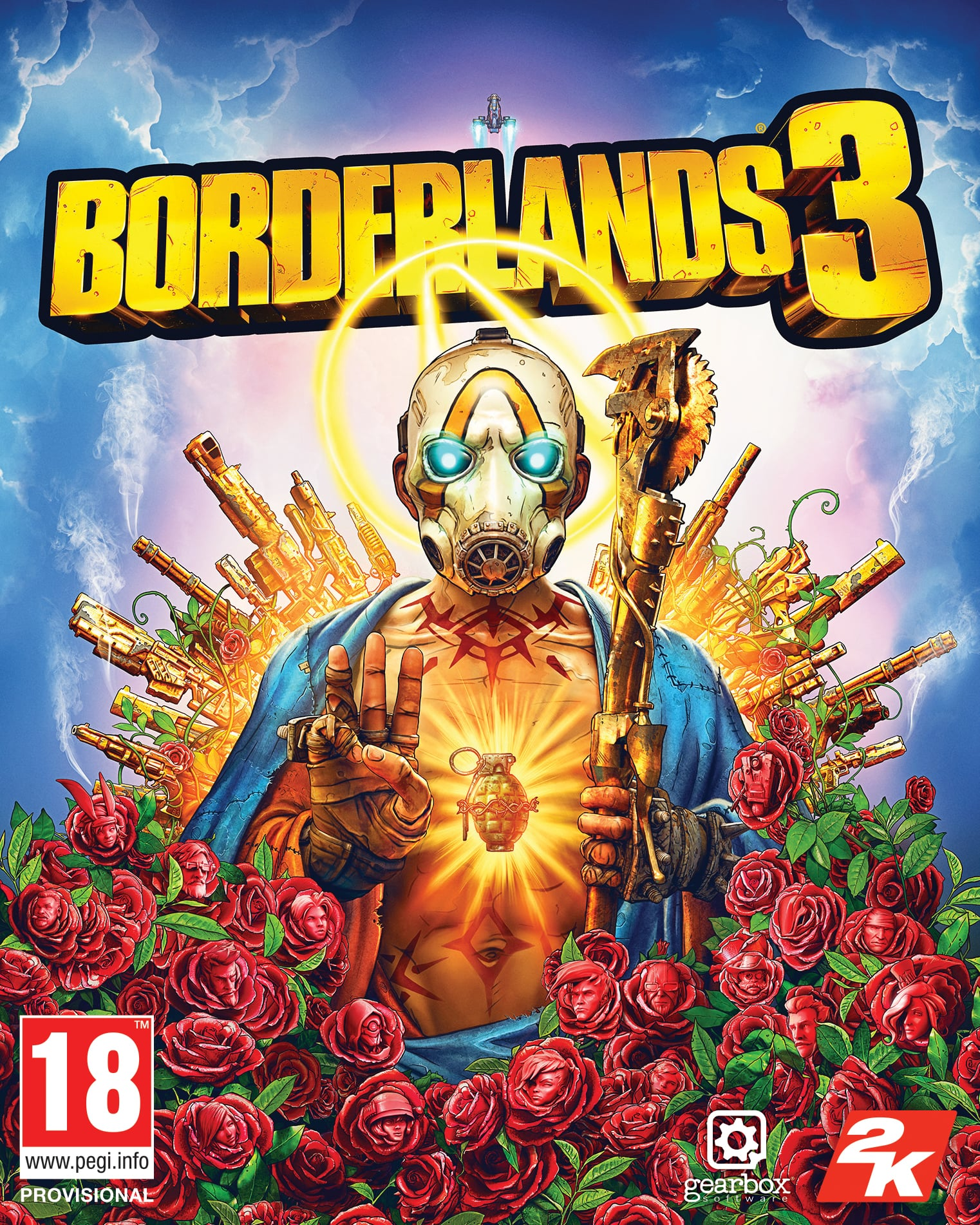 Borderlands 3 Super Deluxe Edition (PC) Klíč Epic Store (PC)