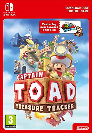 Captain Toad: Treasure Tracker (Switch DIGITAL) (PC)