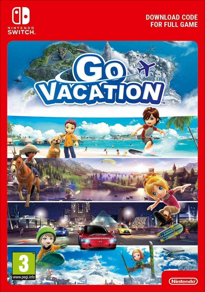 Go Vacation (Switch DIGITAL) (PC)