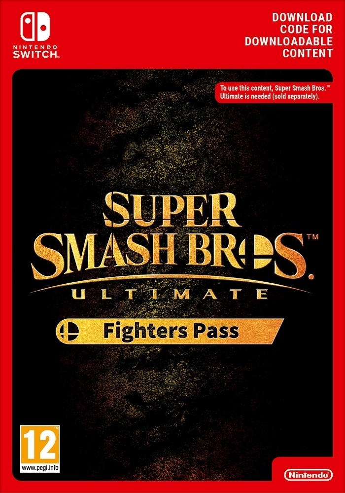Super Smash Bros. Ultimate Fighters Pass (Switch DIGITAL) (SWITCH)