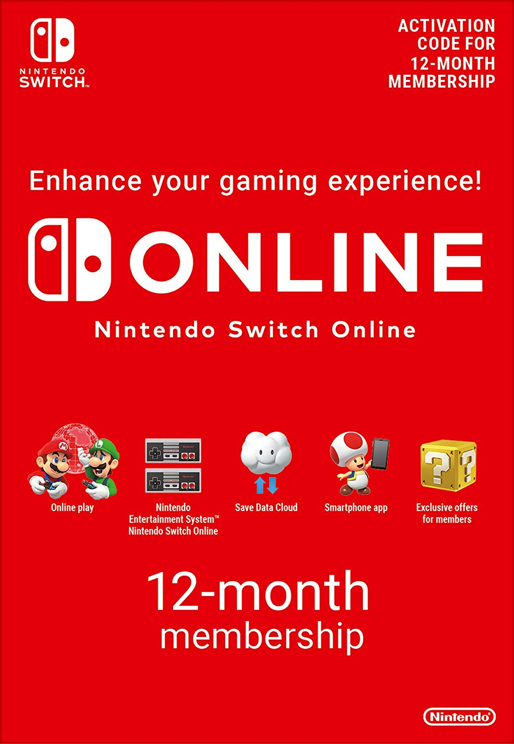 365 Days Switch Online Membership (Individual) (SWITCH)