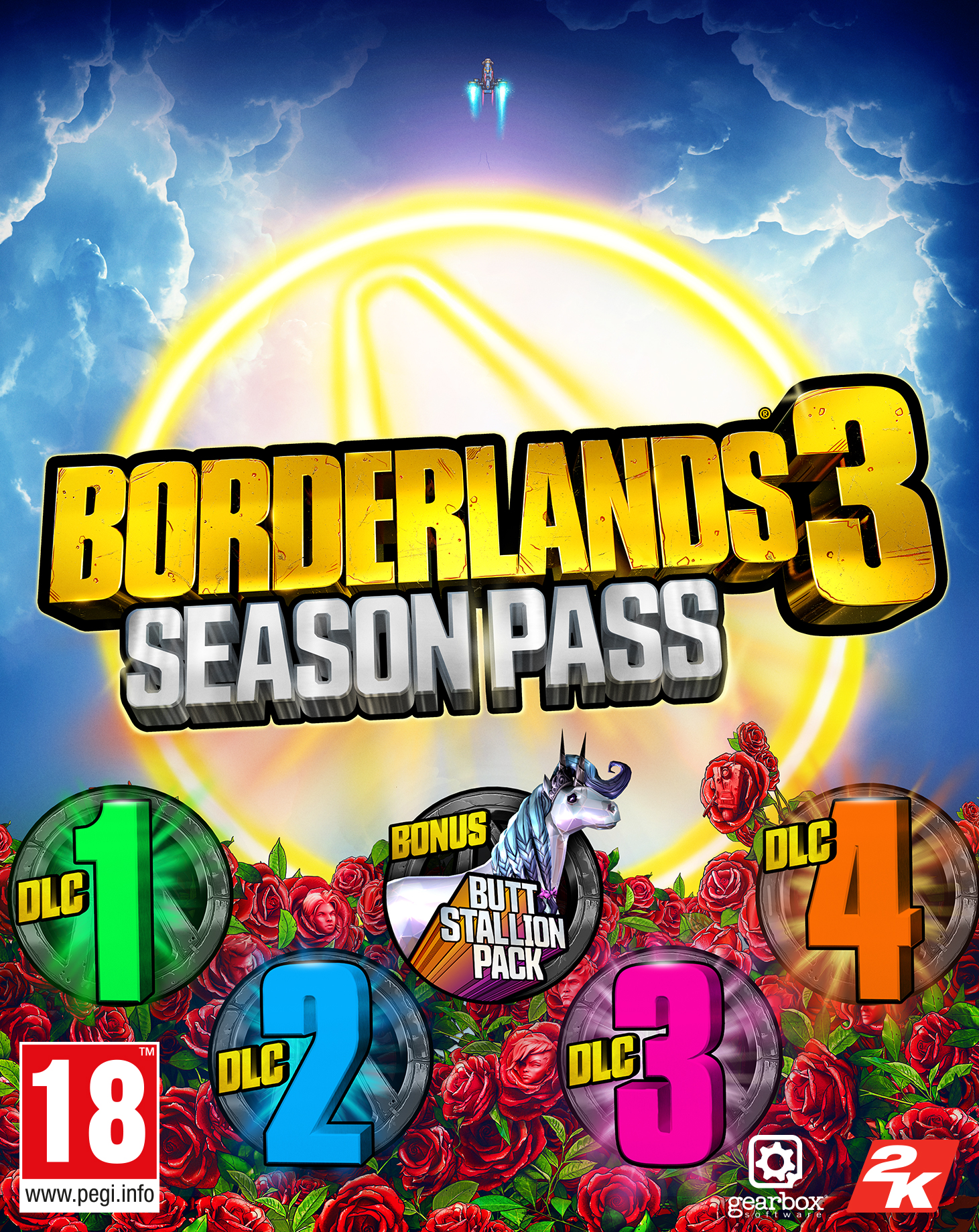 Borderlands 3 Season Pass (PC) Klíč Epic Store (PC)