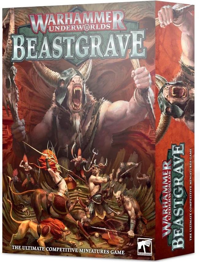 Desková hra Warhammer Underworlds: Beastgrave (PC)