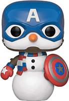 Figurka Marvel - Cap Snowman (Funko POP! Bobble-Head)