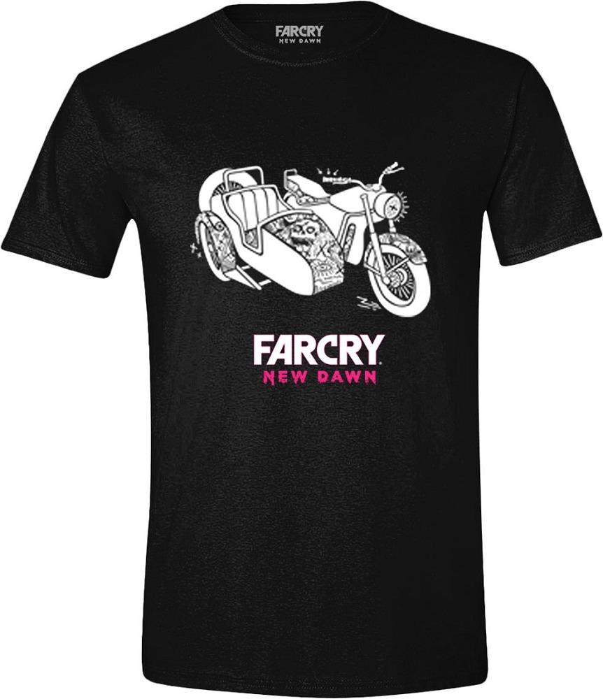 Tričko Far Cry: New Dawn - Side Car (velikost S) (PC)
