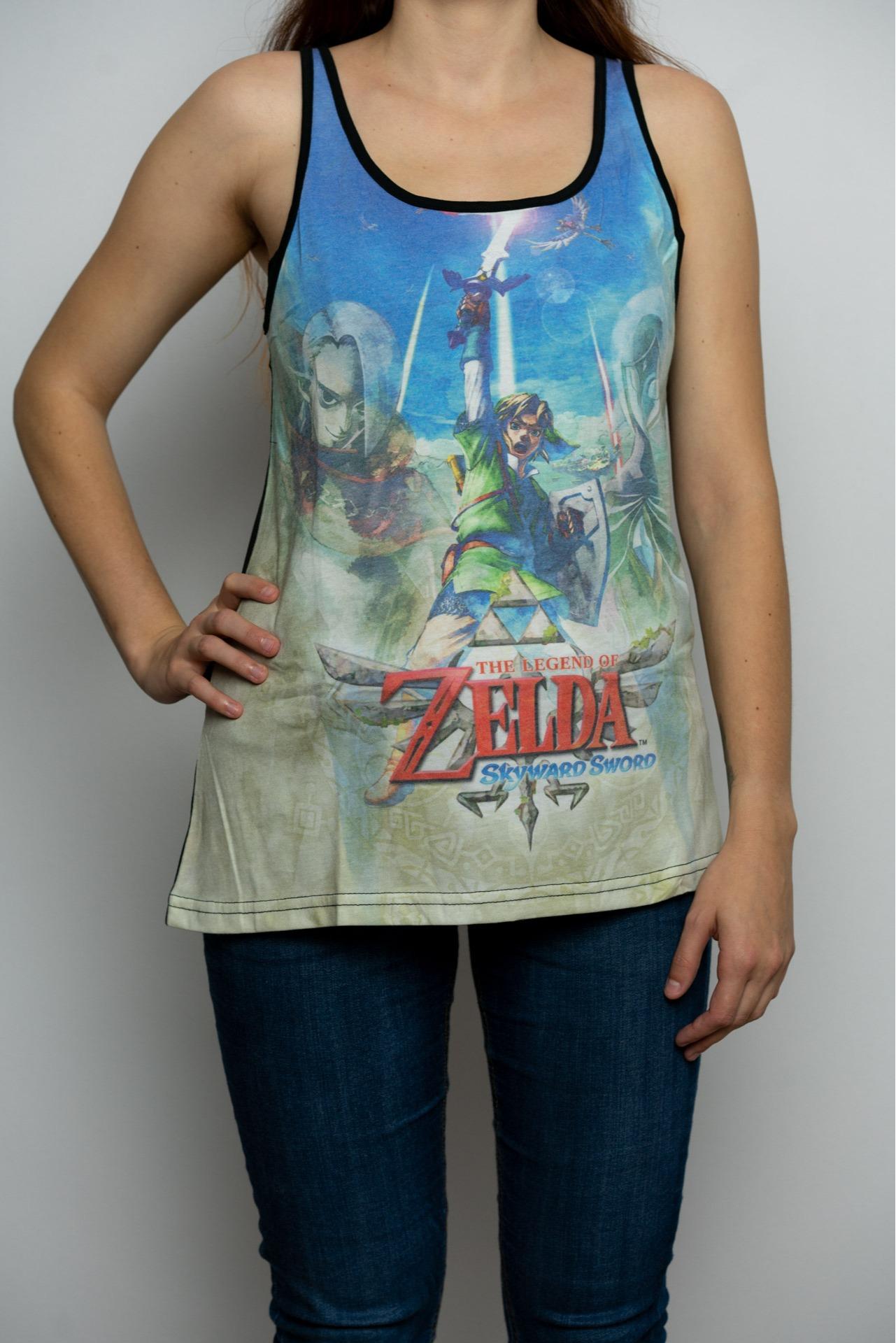 Tílko dámské The Legend of Zelda: Skyward Sword - Sublimation (velikost M)
