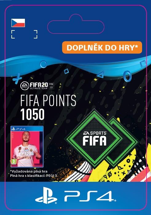 FIFA 20 - 1050 FUT Points (PS4 DIGITAL) (PS4)