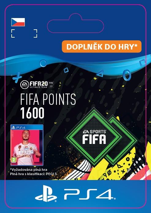 FIFA 20 - 1600 FUT Points (PS4 DIGITAL) (PS4)