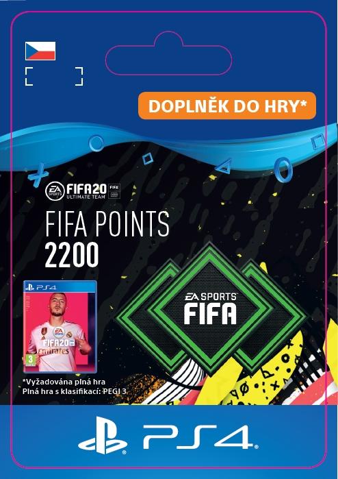FIFA 20 - 2200 FUT Points (PS4 DIGITAL) (PS4)