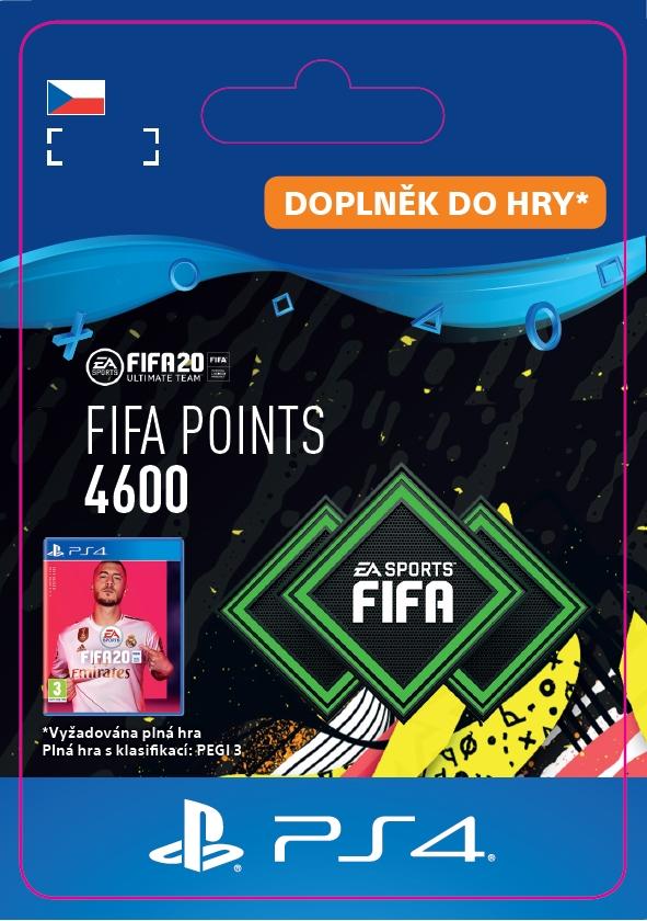 FIFA 20 - 4600 FUT Points (PS4 DIGITAL) (PS4)