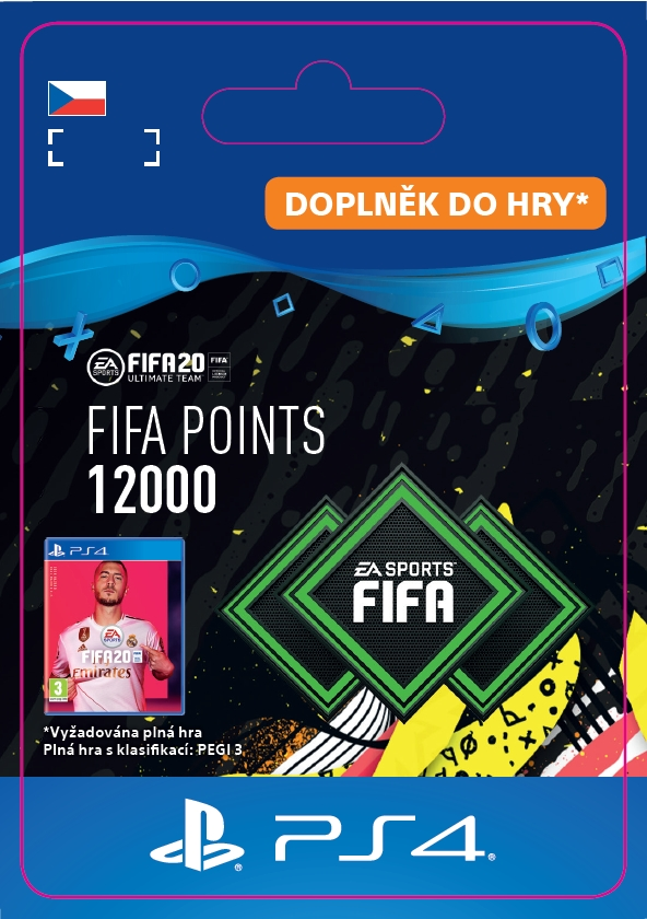 FIFA 20 - 12000 FUT Points (PS4 DIGITAL) (PS4)