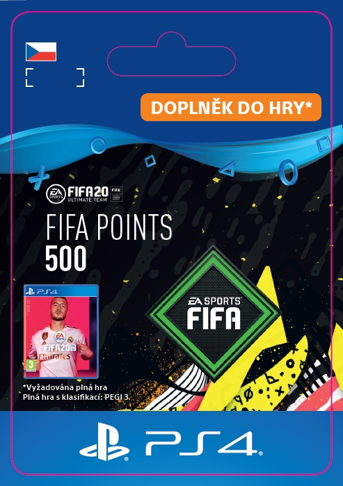 FIFA 20 - 500 FUT Points (PS4 DIGITAL) (PS4)