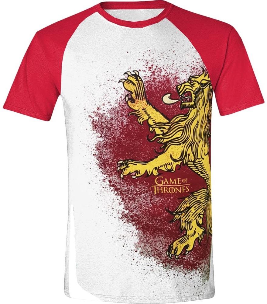 Tričko Game of Thrones - Lannister Painted Raglan (velikost S) (PC)