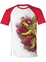 Tričko Game of Thrones - Lannister Painted Raglan (velikost XXL) (PC)