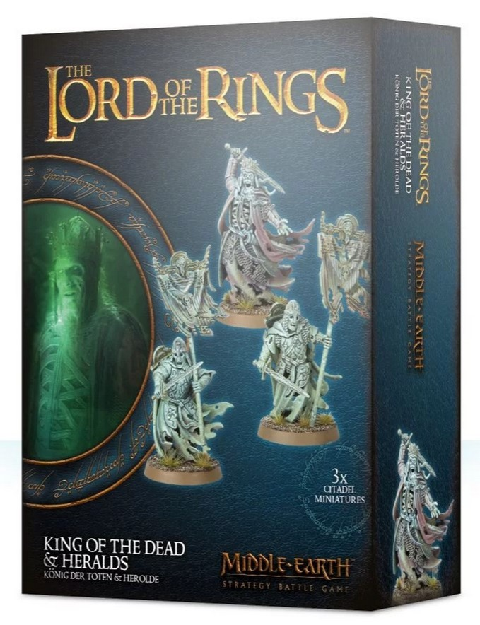 Desková hra The Lord of The Rings - King of the Dead & Heralds (figurky)