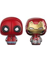 Figurka Spider-Man: Homecoming - Spider-Man + Ironman (Funko Pint Size Heroes)