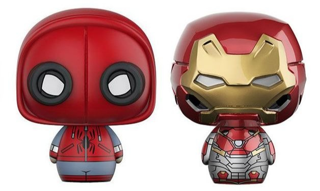 Figurka Spider-Man: Homecoming - Spider-Man + Ironman (Funko Pint Size Heroes) (PC)