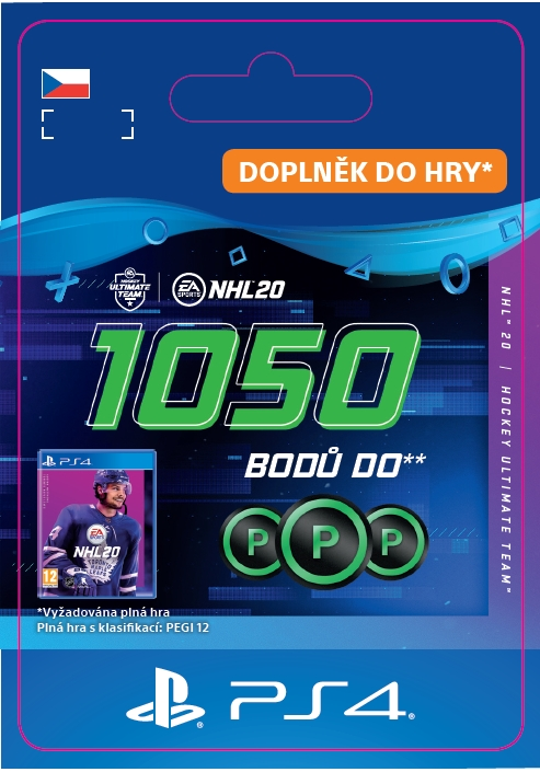 NHL 20 - 1050 Points Pack (PS4 DIGITAL) (PS4)
