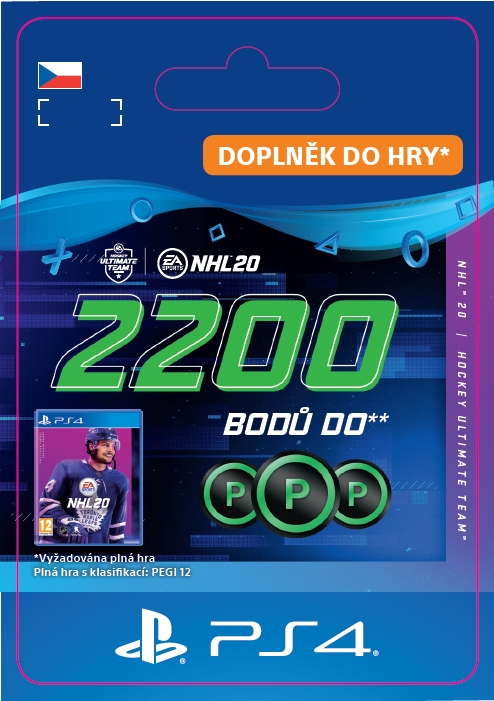 NHL 20 - 2200 Points Pack (PS4 DIGITAL) (PS4)