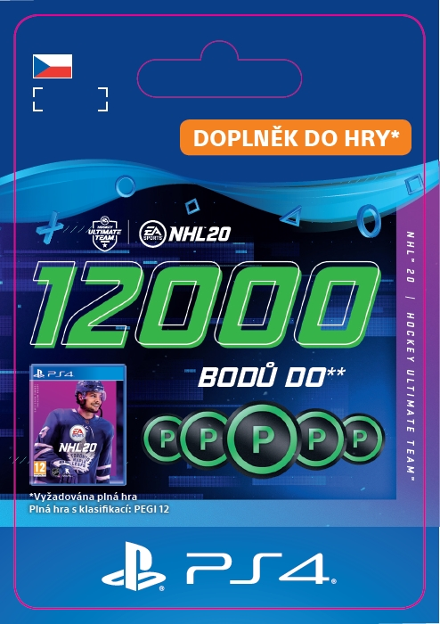 NHL 20 - 12000 Points Pack (PS4 DIGITAL) (PS4)