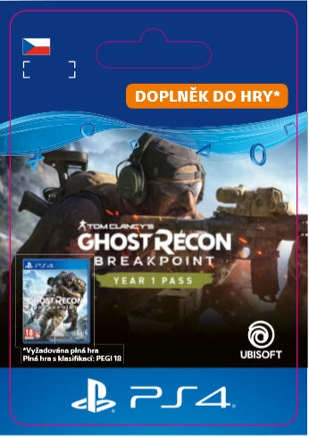 Tom Clancy's Ghost Recon: Breakpoint - Year 1 Pass (PS4 DIGITAL) (PS4)