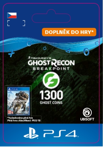 Tom Clancy's Ghost Recon: Breakpoint - 1200 (+100) Gcoins (PS4 DIGITAL) (PS4)