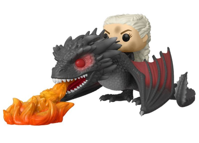 Figurka Game of Thrones - Daenerys on Fiery Drogon (Funko POP! Game of Thrones 68) (PC)