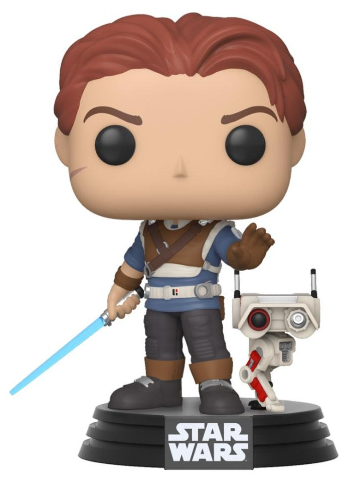 Figurka Star Wars Jedi: Fallen Order - Cal Kestis & BD-1 (Funko POP! Star Wars 337) (PC)