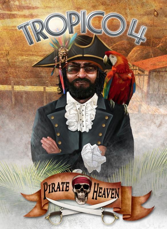 Tropico 4: Pirate Heaven DLC (PC) Steam (PC)