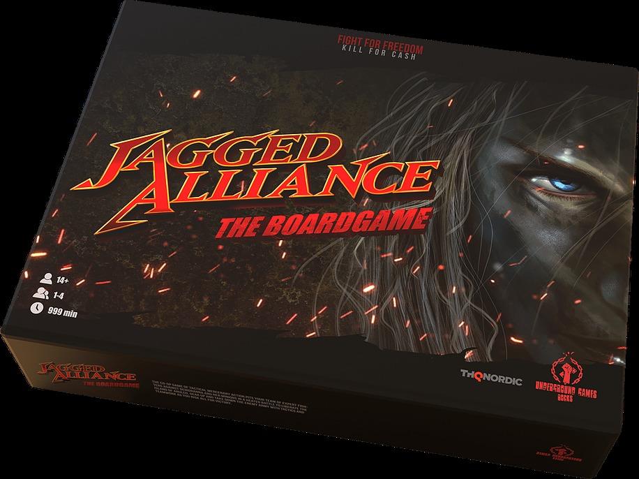 Desková hra Jagged Alliance (PC)