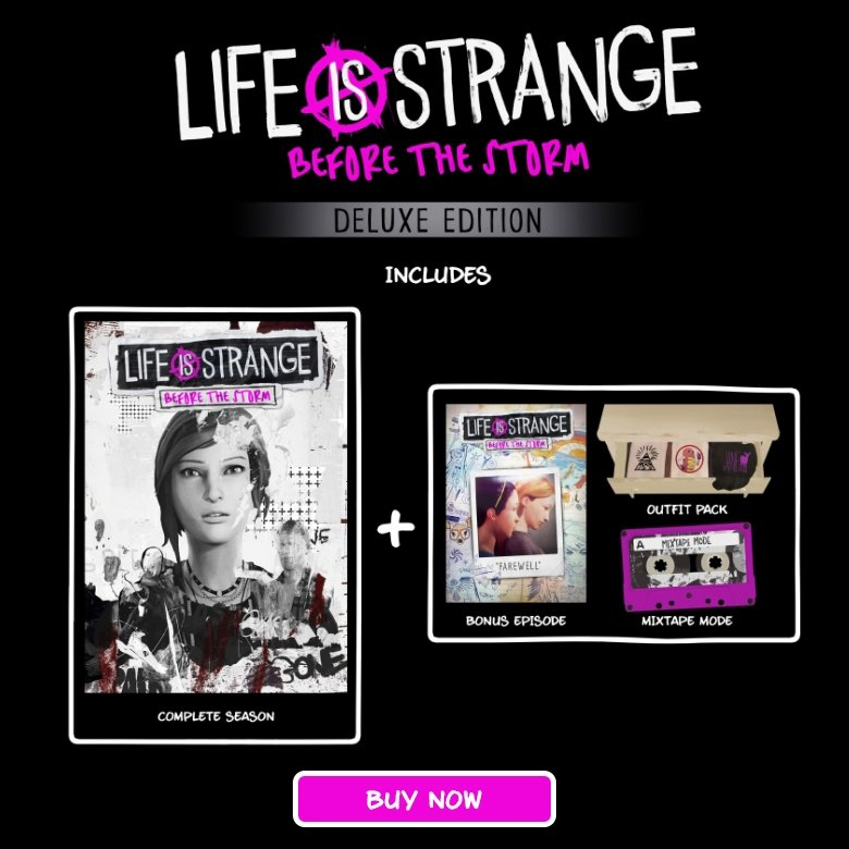Life is Strange: Before the Storm Deluxe Edition (PC)