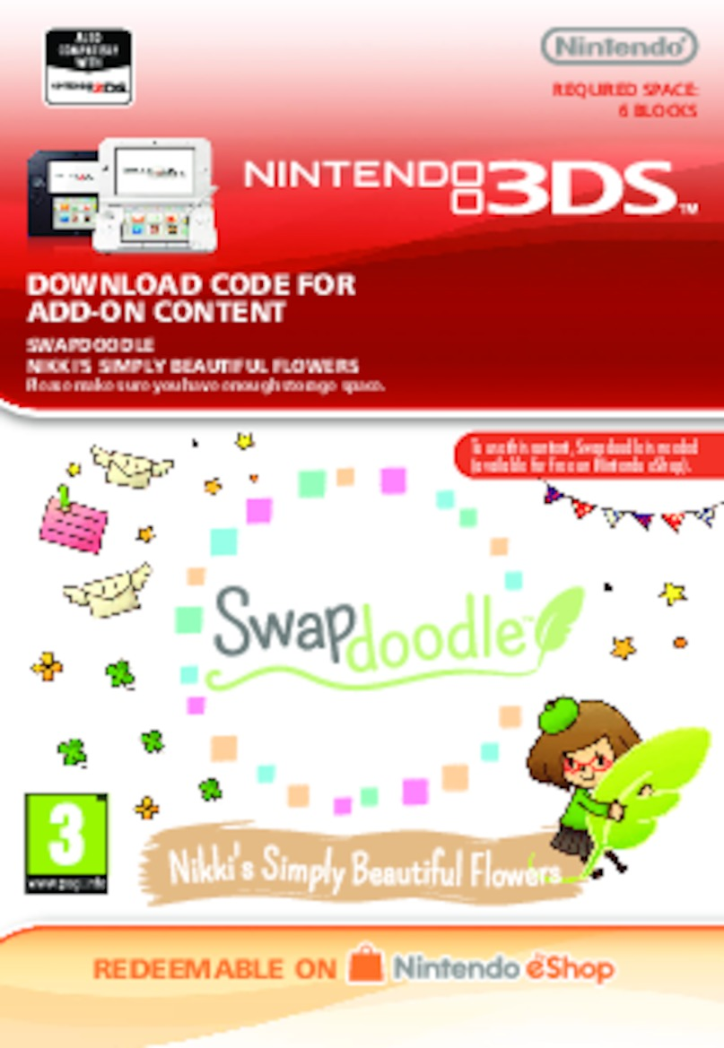 Swapdoodle - Nikki's Simply Beautiful Flowers (3DS) DIGITAL (PC)