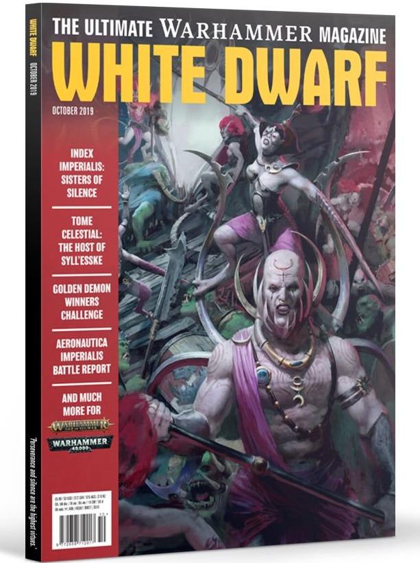Časopis White Dwarf 2019/10 (PC)