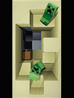 Ručník Minecraft - Creepers (PC)