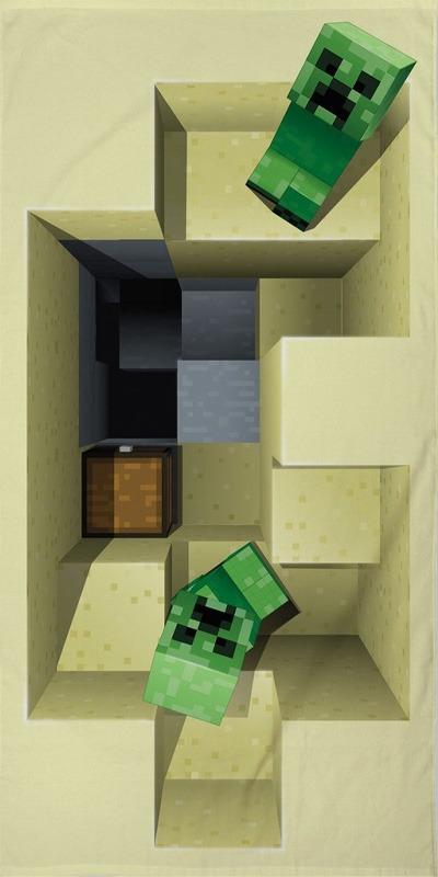 Ručník Minecraft - Creepers (PC)